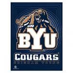 BYU Cougars Vertical Banner