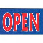 Open banner
