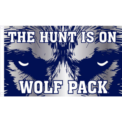 Wolf Pack Hunt Flag