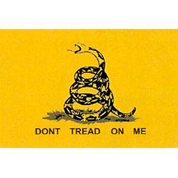 Don't Tread On Me Gadsden Motorcycle Flag