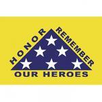 Patriot Guard Motorcycle Flag