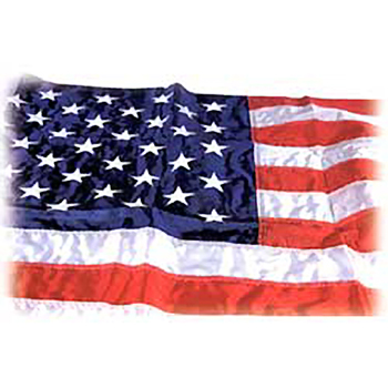 5' x 9.5' Outdoor Nylon U.S. Flag