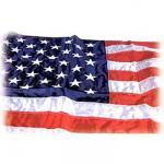 5' x 9.5' Outdoor Nylon U.S. Flag
