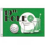 19th Hole Novelty Flag