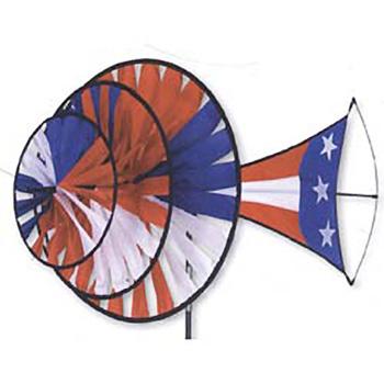 Large Patriotic Triple Spinner