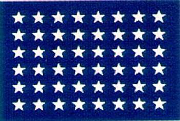 48 Stars: Old Glory Cotton