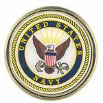 Navy Auto Emblem