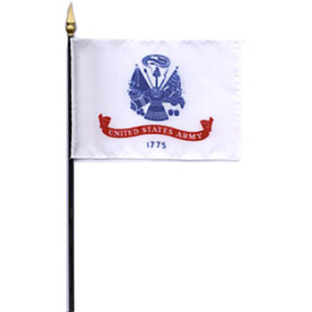 Army Desk Flag - 8 x 12