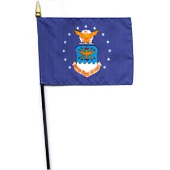 Air Force Desk Flag - 8 x 12