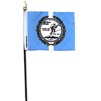 Korean War Veterans Mini Flag