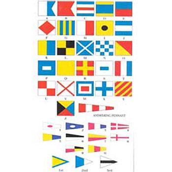 Code Signal Flag Set - Size 3