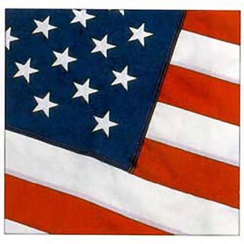 8' x 12' Tough-Tex Polyester U.S. Flag