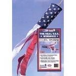 Made In The USA. 50 Star Flag Windsock