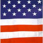 2.5' x 4' Outdoor Cotton U.S. Flag