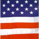5' x 9.5' Outdoor Cotton U.S. Flag