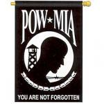 POW MIA Vertical Flag