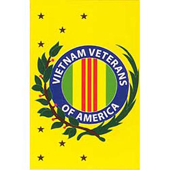 Vertical Vietnam Veterans Of America Flag