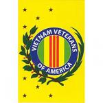 Vertical Vietnam Veterans of America Flag