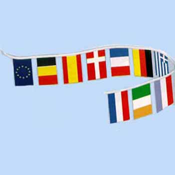 International Flag Pennant Strings