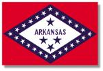Arkansas 8 x 12 Mini Flag