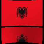 Albania 4 x 6 Mini Flag