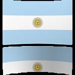 Argentina 8 x 12 Mini Flag