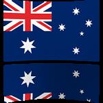 Australia 8 x 12 Mini Flag
