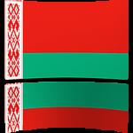 Belarus 4 x 6 Mini Flag