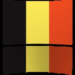 Belgium 8 x 12 Mini Flag