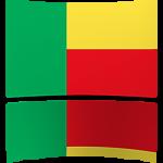 Benin 4 x 6 Mini Flag