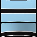 Botswana 4 x 6 Mini Flag