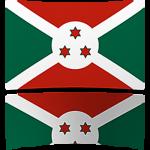 Burundi 4 x 6 Mini Flag
