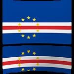 Cape Verde 4 x 6 Mini Flag