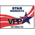 VPP Star Worksite Flag