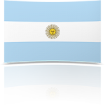 Argentina Indoor Flag - Fringed or Unfringed
