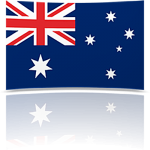 Australia Indoor Flag - Fringed or Unfringed