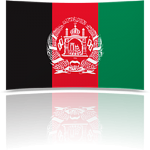 Afghanistan Indoor Flag - Fringed or Unfringed