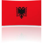 Albania Indoor Flag - Fringed or Unfringed