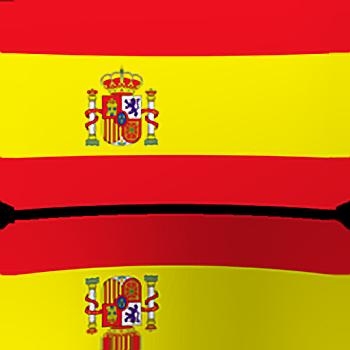 Spain Indoor Flag - Fringed or Unfringed