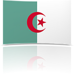Algeria Indoor Flag - Fringed or Unfringed